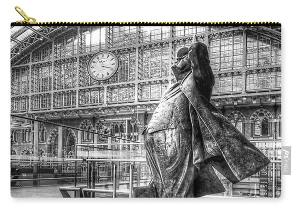 Admiration - Sir John Betjeman At St Pancras Station London Carry-all Pouch