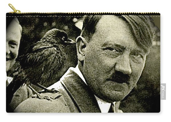 Adolf Hitler And A Feathered Friend C.1941-2008 Carry-all Pouch