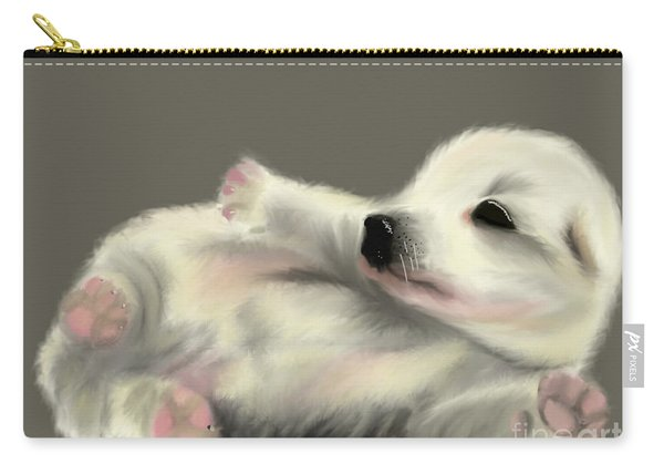 Adorable Pup Carry-all Pouch