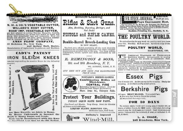 Ads Agriculture, 1873 Carry-all Pouch