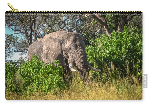 African Bush Elephant Carry-all Pouch
