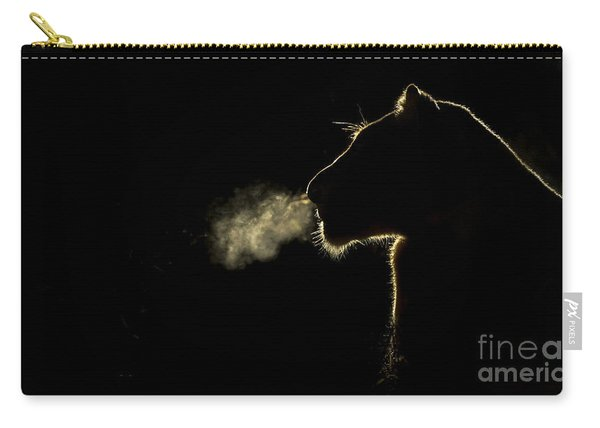 African Lioness Breath Sabi Sands South Carry-all Pouch