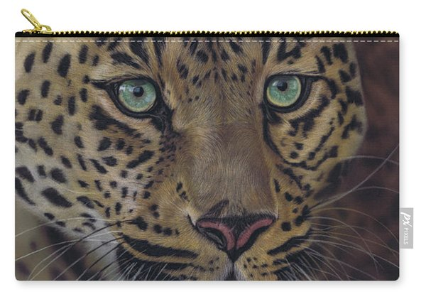 After Dark All Cats Are Leopards Carry-all Pouch