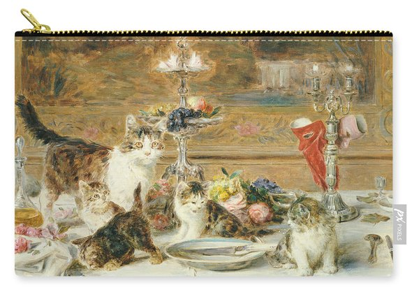 After Dinner Guests Carry-all Pouch