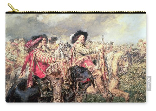 After The Battle Of Naseby In 1645, 1860 Carry-all Pouch
