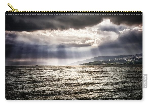 After The Storm Sea Of Galilee Israel Carry-all Pouch