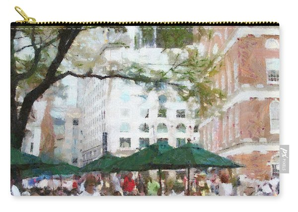 Afternoon At Faneuil Hall Carry-all Pouch