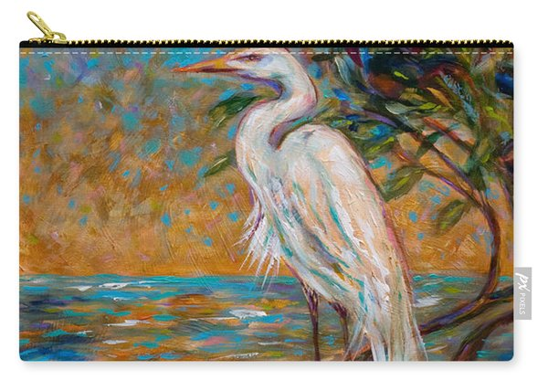 Afternoon Egret Carry-all Pouch