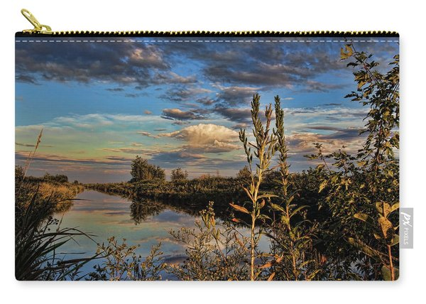 Late Afternoon In The Mead Wildlife Area Carry-all Pouch