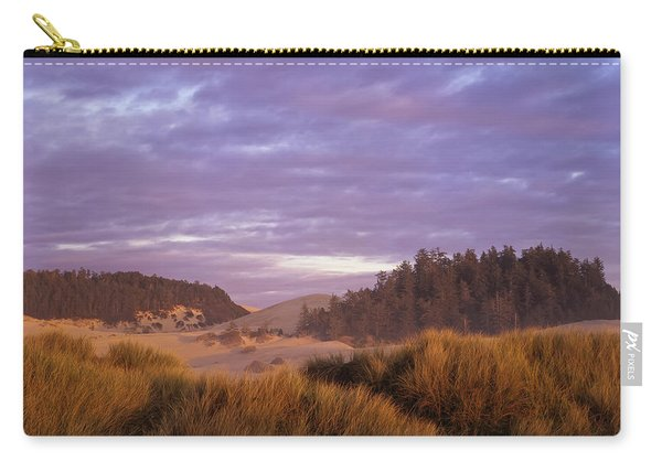 Afternoon Light Warms The Umpqua Dunes Carry-all Pouch