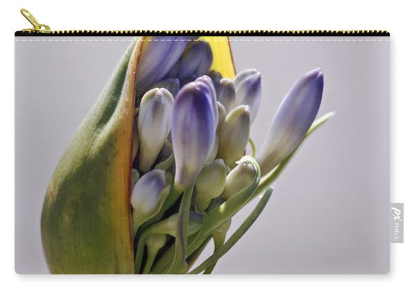 Agapanthus Blue Carry-all Pouch