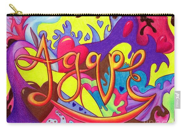 Agape Carry-all Pouch
