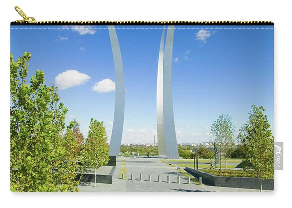 Air Force Memorial With Three Soaring Carry-all Pouch