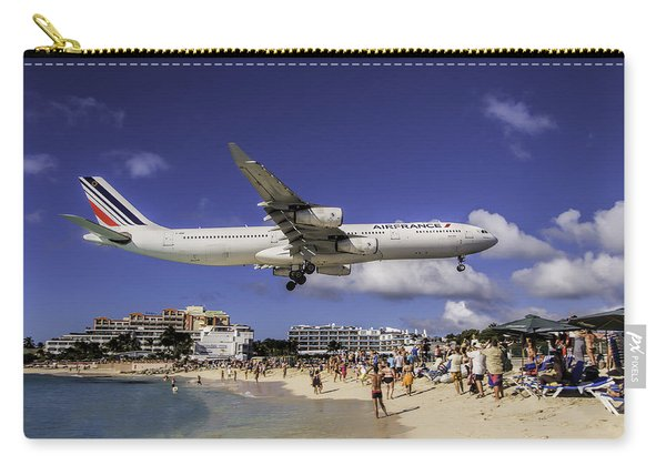 Air France St. Maarten Landing Carry-all Pouch