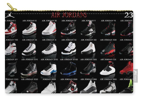 Air Jordan Shoe Gallery Carry-all Pouch
