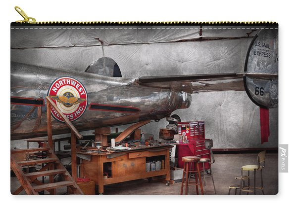 Airplane - The Repair Hanger  Carry-all Pouch