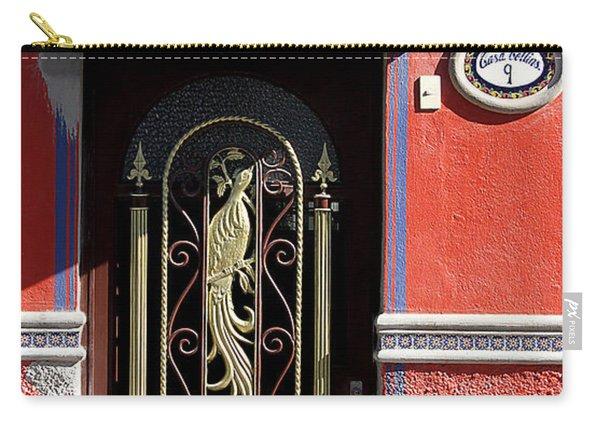 Ajijic Door #8 Carry-all Pouch