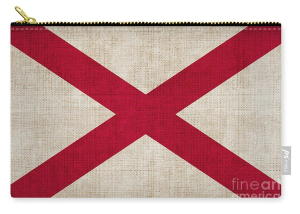Alabama State Flag Carry-all Pouch