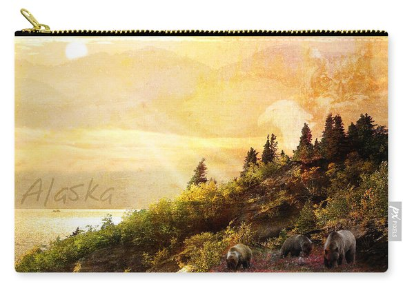 Alaska Montage Carry-all Pouch