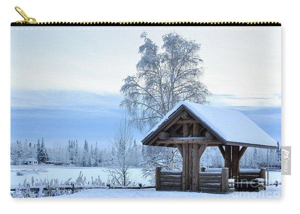 Alaska Winter Pavilion Carry-all Pouch
