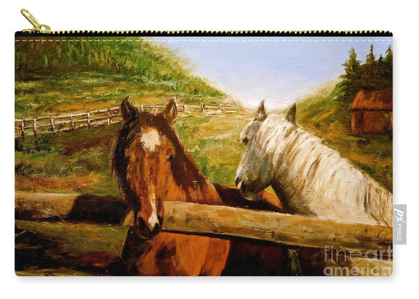 Alberta Horse Farm Carry-all Pouch