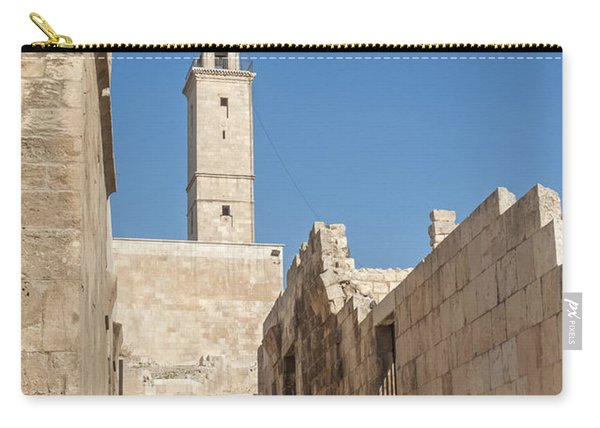 Aleppo Citadel In Syria Carry-all Pouch