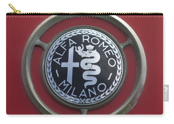 1961 Alfa Romeo Giulietta Sprint Veloce Series II Emblem -1045c Carry-all Pouch
