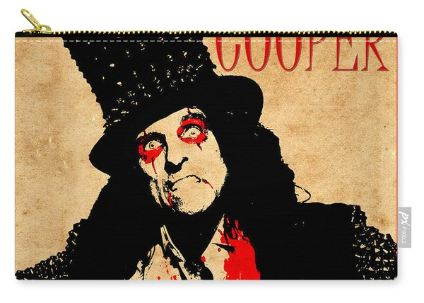 Alice Cooper 1 Carry-all Pouch