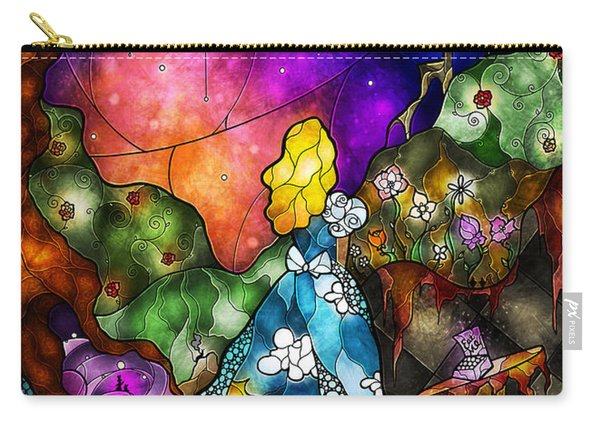 Alice's Wonderland Carry-all Pouch