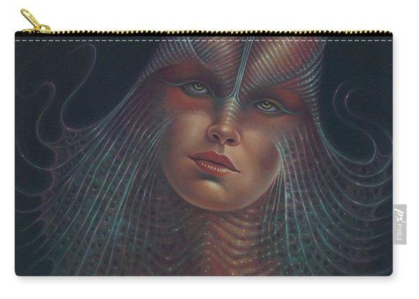 Alien Portrait Il Carry-all Pouch
