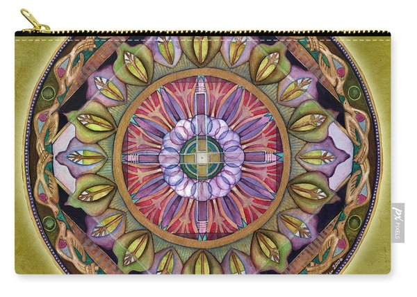 All Is Well Mandala Carry-all Pouch
