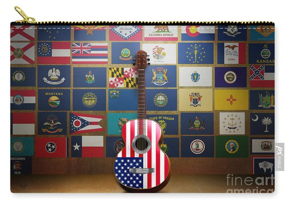 All State Flags Carry-all Pouch