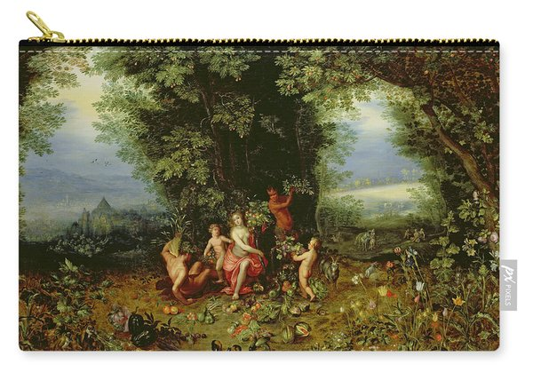 Allegory Of The Earth Carry-all Pouch
