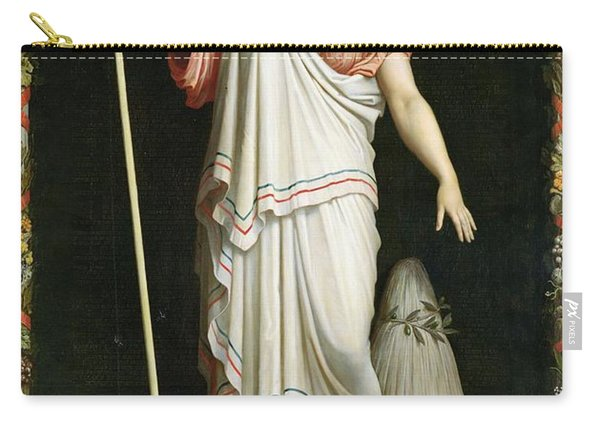 Allegory Of The Republic, 1848 Oil On Canvas Carry-all Pouch