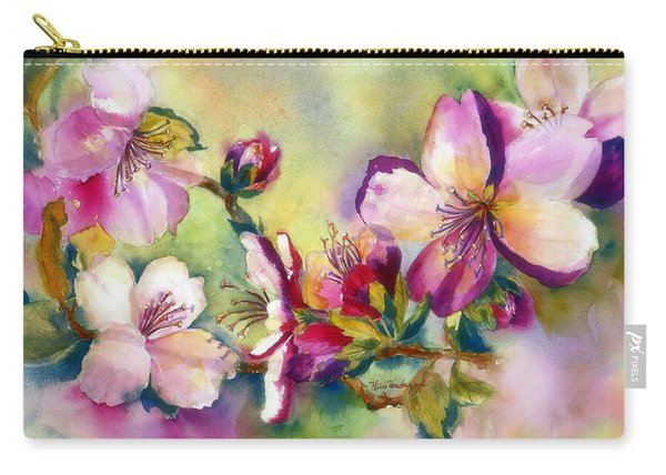 Almond Blossoms Carry-all Pouch