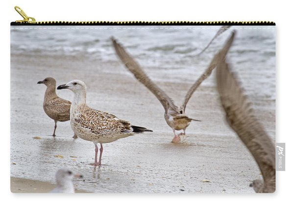 Along The Shoreline Carry-all Pouch