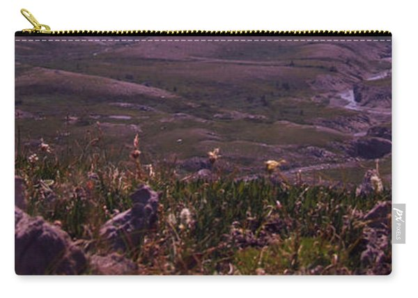 Alpine Floral Meadow Carry-all Pouch