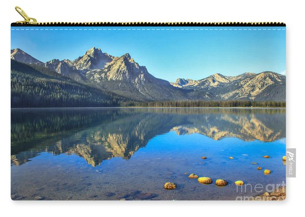 Alpine Lake Reflections Carry-all Pouch