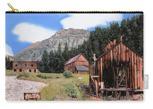 Alta In Colorado Carry-all Pouch
