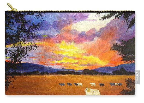 Alvin Counting Sheep Carry-all Pouch