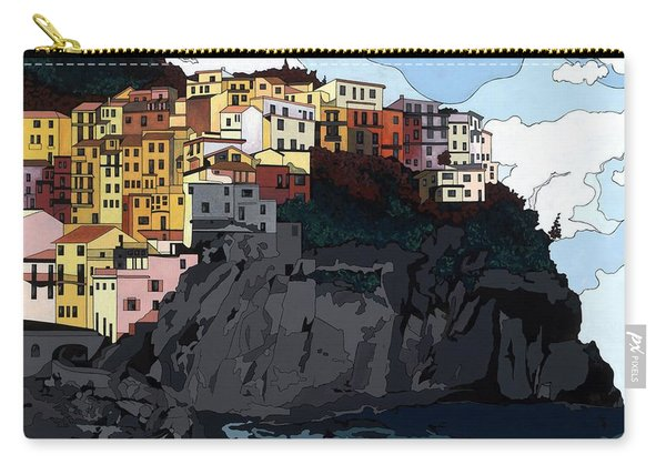 Manarola W/hidden Pictures Carry-all Pouch