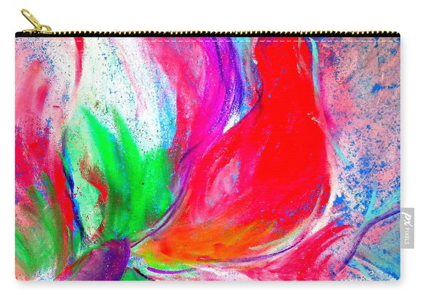 Funky Amaryllis Lily Carry-all Pouch