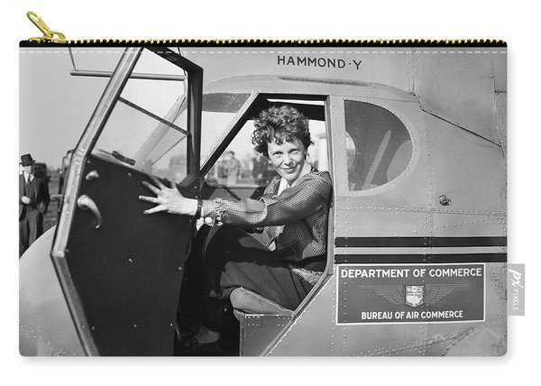 Amelia Earhart - 1936 Carry-all Pouch