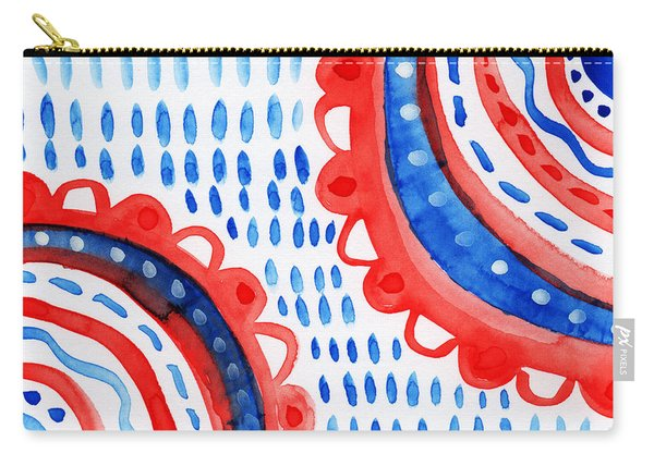Americana Celebration 3- Painting Carry-all Pouch