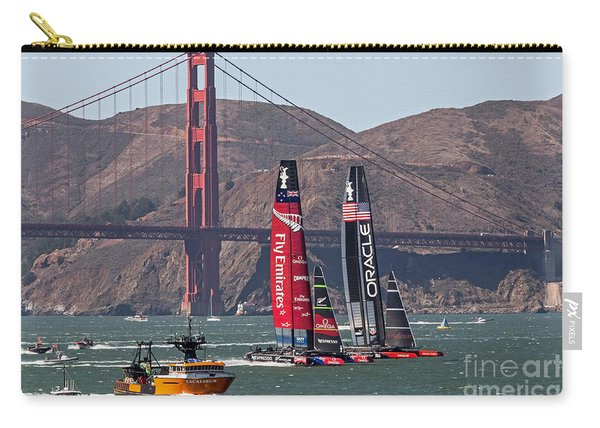 Americas Cup At The Gate Carry-all Pouch