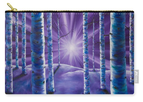 Amethyst Winter Carry-all Pouch