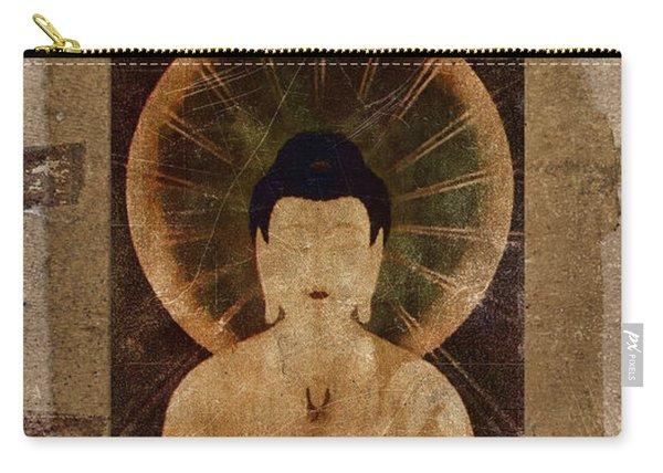 Amida Buddha Postcard Collage Carry-all Pouch