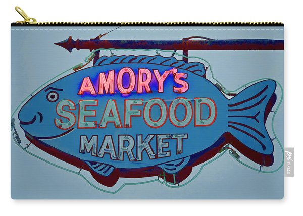 Amory Seafood Sign Carry-all Pouch