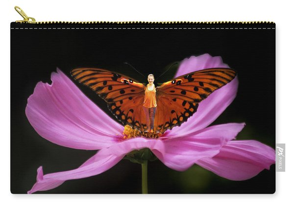 Amy The Butterfly Carry-all Pouch