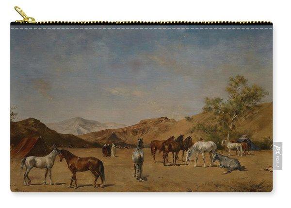An Arabian Camp Carry-all Pouch